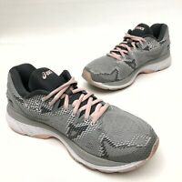 @@ Womens ASICS Gel-Nimbus 20 Grey Pink Athletic  Running Shoes 9.5 Eu41.5 EUC