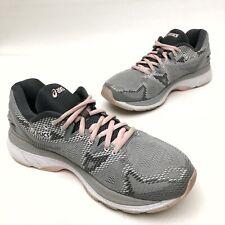 @@ Womens ASICS Gel-Nimbus 20 Grey Pink Athletic  Running Shoes 9.5 Eu41.5 EUC