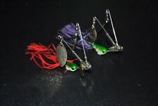 2 X Spinnerbaits Twin Arm Quad Blade Murray Cod & Yellow Belly MUZZA'S LURES
