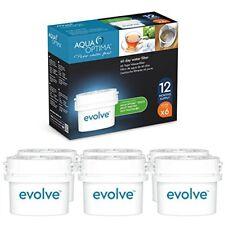 Evolucionar Aqua Optima Paquete de 12 meses, 6 X 60 días Filtros de agua-Fit Brita Maxtra