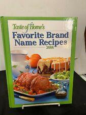New listing Favorite Brand Name Recipes 2006 Taste Of Home'S