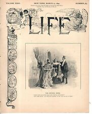 1894 Life March 15 - Gladstone quits Politics; The Pit Bull and the Bicyclist