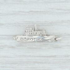 Dorothy Ship Charm - Sterling Silver 925 Souvenir Nautical Keepsake