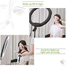 5500K 240pcs LED Ring Light Dimmable Continuous Ring Video Lamp 18 Inch 55W B4N2