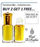 Rose Istanbul 3ML Turkish Floral Ambergris Musk Perfume oil/Attar by Oud DArabie