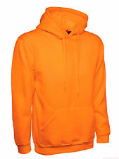 Mens Hoodie Size XS to 4XL Plain Hooded Sweatshirt Premium NEW UK STOCK