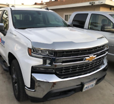 CHROME Bug Shield (2019- 2020 SILVERADO 1500 NEW BODY) Hood Deflector Protector