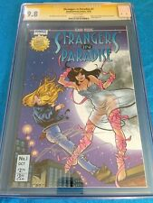 Strangers in Paradise v3 #1 - CGC SS 9.8 NM/MT - Signed by Terry Moore, Jim Lee