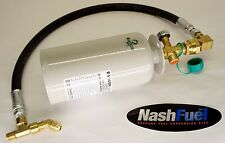 1LB TANK ADAPTER KIT PROPANE FORKLIFT EMERGENCY SPARE EXTRA RESERVE REFILLABLE