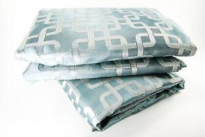 """Liz Claiborne Home Henri Blackout Curtain Panel Pair, 50"""" x 84"""" Blue Spruce"""