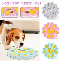 Interactive Dog Cat Food Feeder Toy Pet Puzzle Activity Toys Training Games Bowl