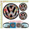 sticker bomb VW adesivo auto moto casco tuning helmet serbatoio 3 pz