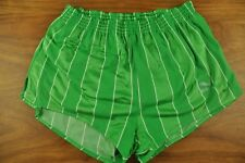 vtg Puma Retro West German High Leg Sprinter Shorts - Glanz Ibiza - Medium x412
