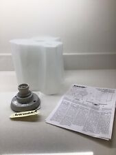 ARTEMIDE LOGICO MINI CEILING LIGHT POLISHED SILK GLASS. BRAND NEW IN BOX. 3 OF 5