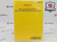 Fanuc A08B-9012-J001 Series 0i/0i Mate-Model C AC Servo/Spindle Motor CD Manual