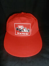 Casquette vintage MALBORO Red and White Team (Formule 1)