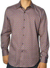 Robert Graham Mens Falkirk Wheel Classic Fit Long Sleeve Shirt Size XL