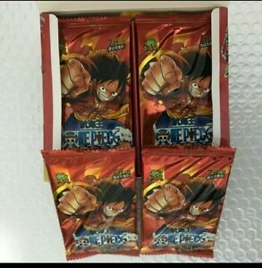 2 PACKS ONE PIECE LUFFY ANIME COLLECTABLE TRADING CARDS