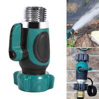 "Sale~NPT3/4"" Garden Hose Connector 1Way Shut-off Valve Water Pipe Faucet Adapter"