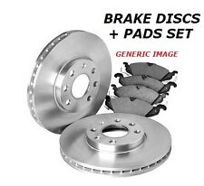 FOR NISSAN ELGRAND MPV 3.0 3.2 DT FRONT VENTED 283mm BRAKE DISC DISC PAD PADS