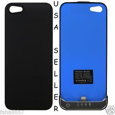 APPLE IPHONE 5 RECHARGEABLE BLACK BATTERY CASE POWER PACK EXTERNAL EXTENDED NIB
