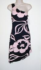 """Hourglass Sexy Pink & Black Dress Ladies M  NWT  Bust 32"""""""