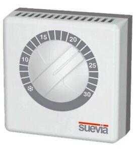 Raumthermostat mit Gasmembran für Heizung Klima Thermostat TermoStat von Suevia