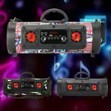 Portable Wireless Bluetooth Loud Speaker FM AUX Super Bass 3D Music Stereo Radio