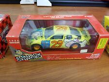 Steve Grissom 1996 Cartoon Network #29 Flintstones 1/24 Vintage NASCAR