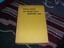 MOTOR RACING & MOTOR RALLY DIRECTORY 1957 - 1957 HB BOOK