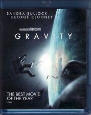 GRAVITY ~ Sandra Bullock ~ George Clooney ~ 7 Oscars! ~ Like-New DVD/Blu-Ray Set