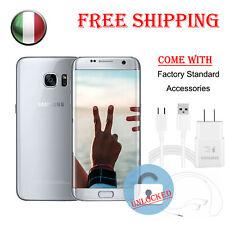 Samsung Galaxy S7 32gb Sm-g930a Argento Smartphone At&t Sbloccato 12mp Quad Core