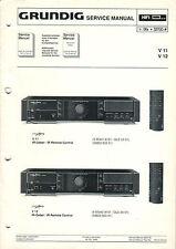 GRUNDIG - V11 V12 - Service Anleitung Manual - B2283