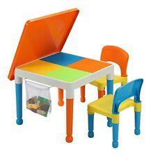 Liberty House - tavolo per giocare alle costruzioni con Sacchetto