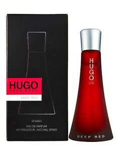 Hugo Boss Deep Red Eau De Parfum for Woman 90Ml Spray **Brand New**