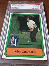 1981 Donruss Golf Peter Jacobsen #26 PSA 8