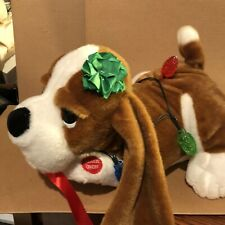Chantilly Lane Musical Christmas Dog