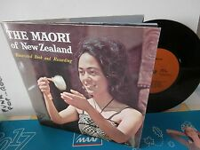 """the maori""""The Maori Of New Zealand""""ep7""""+ livret 10 pages..new zealand.1972."""