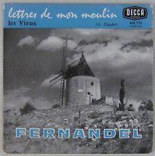 Fernandel 45 tours Alphonse Daudet Les vieux