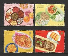 SINGAPORE 2018 FOODS FOR LOCAL FESTIVALS 1ST LOCAL SHORT SET OF 4 STAMPS IN MINT