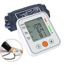 Upper Arm Blood Pressure Monitor LCD Display Pulse Tester BP Cuff With Voice.H5
