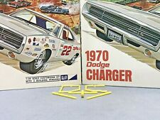 MPC 1970 DODGE CHARGER R/T VINTAGE KIT#770-200 1/25 AMT ORIGINAL ROLL CAGE ONLY