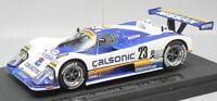 Ebbro 43680 Nissan Calsonic R88 Le Mans 1988 No. 23 (White / Blue) 1/43 scale