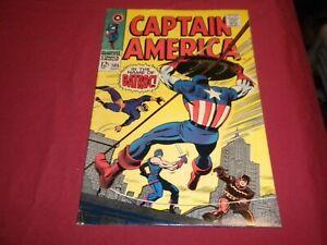 WA1 Captain America #105 marvel 1968 silver age 5.0/vg/fn comic!