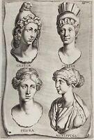 Castor Phaidra Agrippina Kybele Mythologie Griechenland Antike Greece 1690