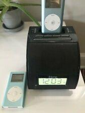 2 Apple iPod MINI A1051 Light Blue, IHome Alarm Clock USED