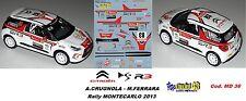 CITROEN DS3  R3 - CRUGNOLA   - Rally  Montecarlo   2013