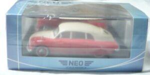 NEO NEO46162, Tatra T600 Tatraplan, 1948, rot/creme, 1/43, NEU&OVP