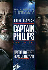 Captain Phillips (DVD, 2014, Includes Digital Copy UltraViolet) NEW & SEALED