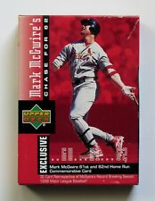 Mark McGuire Upper Deck Chase For 62 Series Boxed Set of 30 Cards